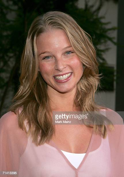 Actress Rachel Nichols arrives at the Universal Pictures premiere of You Me Dupree at the Cinerama Dome on July 10 2006 in Hollywood California