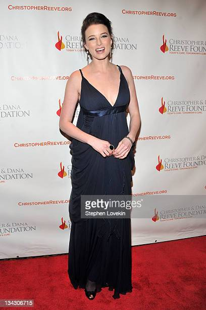 Actress Rachel Nichols attends Christopher Dana Reeve Foundation's A Magical Evening Gala at Cipriani Wall Street on November 30 2011 in New York City