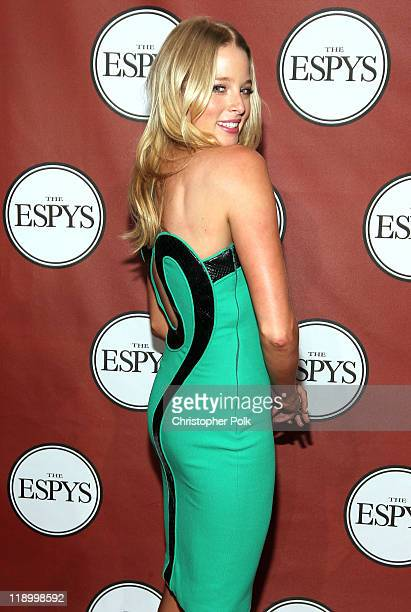 Actress Rachel Nichols attends The 2011 ESPY Awards at Nokia Theatre LA Live on July 13 2011 in Los Angeles California