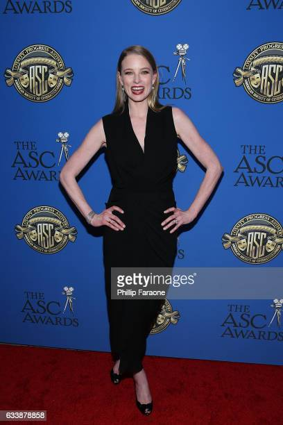 Actress Rachel Nichols attends the 31st Annual American Society of Cinematographers Awards at The Ray Dolby Ballroom at Hollywood Highland Center on...