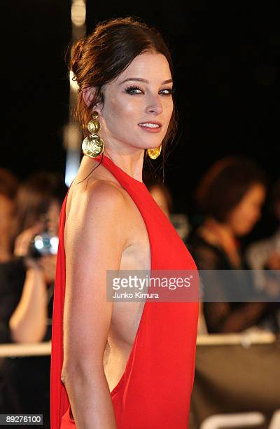 Actress Rachel Nichols attends the GI Joe The Rise Of Cobra Japan Premiere at Lalaport Toyosu on July 27 2009 in Tokyo Japan The film will open on...
