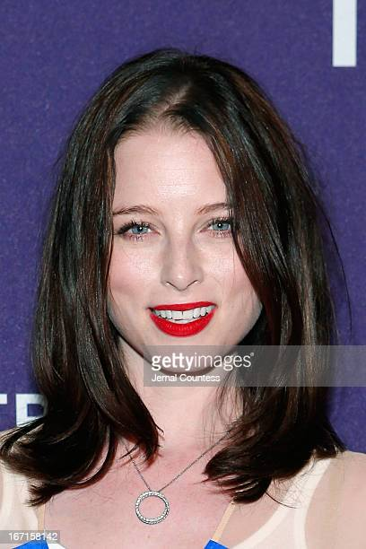 Actress Rachel Nichols attends the Raze world premiere during the 2013 Tribeca Film Festival on April 21 2013 in New York City