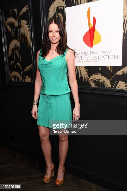 Actress Rachel Nichols attends the Reeve Foundation Champions Committee Summer Party at No8 on August 22 2012 in New York City