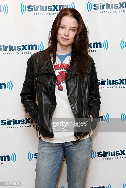 Actress Rachel Nichols visits the SiriusXM Studios on November 6 2012 in New York City