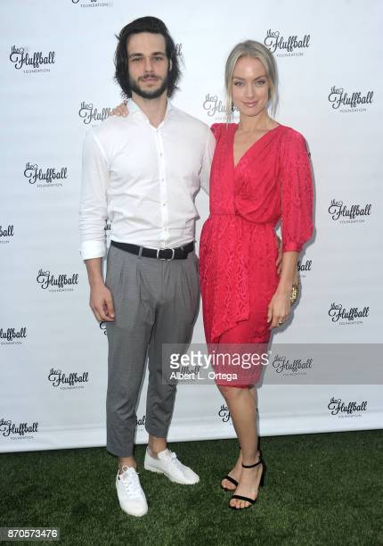 Actress Rachel Skarsten and Alex at The 2017 Fluffball held at Lombardi House on November 4 2017 in Los Angeles California