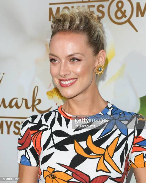 Actress Rachel Skarsten attends the Hallmark Channel And Hallmark Movies And Mysteries 2017 Summer TCA Tour at on July 27 2017 in Beverly Hills...