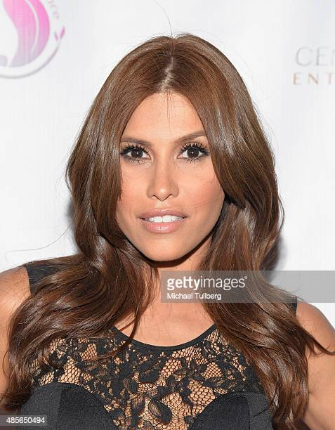 Actress Rachel Sterling attends the 'Breakfast At Tiffany' benefit for the HollyRod Foundation For Autism at Tiffany's On Vine on August 28 2015 in...
