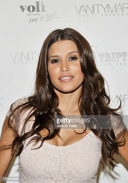 Actress Rachel Sterling attends the grand opening of the Vanitymark Brow Bar on July 28 2011 in Los Angeles California