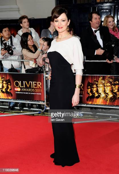 Actress Rachel Sterling attends The Olivier Awards 2011 at Theatre Royal on March 13 2011 in London England