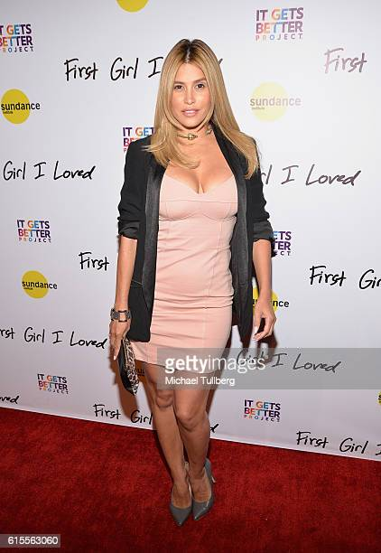 Actress Rachel Sterling attends the premiere of PSH Collective's 'First Girl I Loved' at the Vista Theatre on October 18 2016 in Los Angeles...