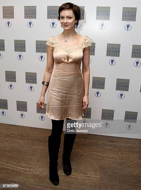 Actress Rachel Stirling attends the Laurence Olivier Awards Nominee Luncheon Party at the Haymarket Hotel on March 2 2010 in London England