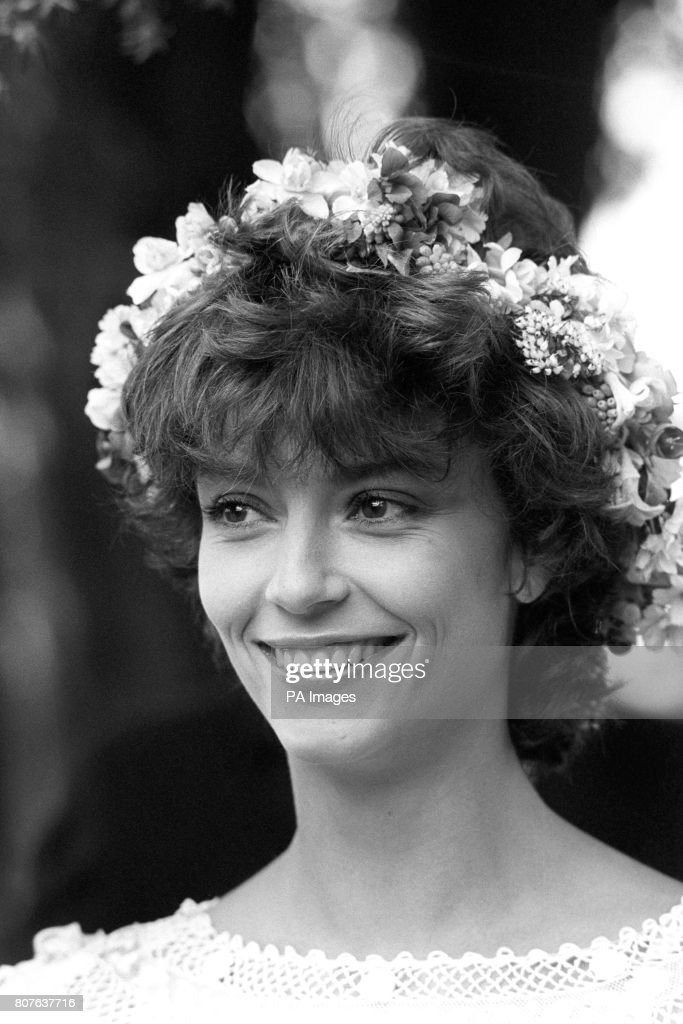 Actress Rachel Ward At Her Wedding To Australian Actor Bryan Brown Father S Estate Cornwell