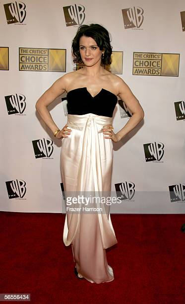 Actress Rachel Weisz arrives at the 11th Annual Critics' Choice Awards held at the Santa Monica Civic Auditorium on January 9, 2006 in Santa Monica,...