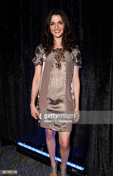 Actress Rachel Weisz arrives at the The Brothers Bloom premiere during the 2008 Toronto International Film Festival held at on the Rooftop at the...
