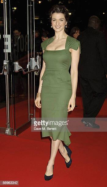 Actress Rachel Weisz arrives at the UK Premiere of 'The Constant Gardener' as the opening gala for The Times BFI London Film Festival at the Odeon...