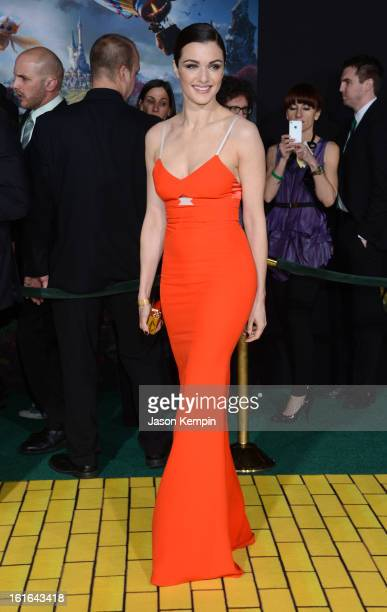 Actress Rachel Weisz arrives for the world premiere of Walt Disney Pictures' Oz The Great And Powerful at the El Capitan Theatre on February 13 2013...