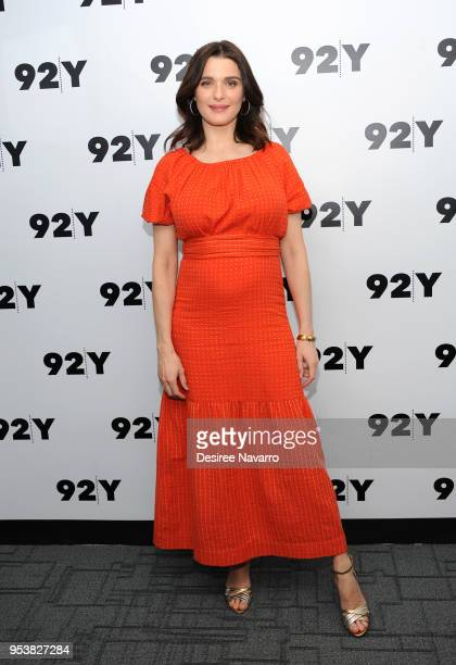 Actress Rachel Weisz attends 92nd Street Y Presents Rachel Weisz on April 23 2018 in New York City