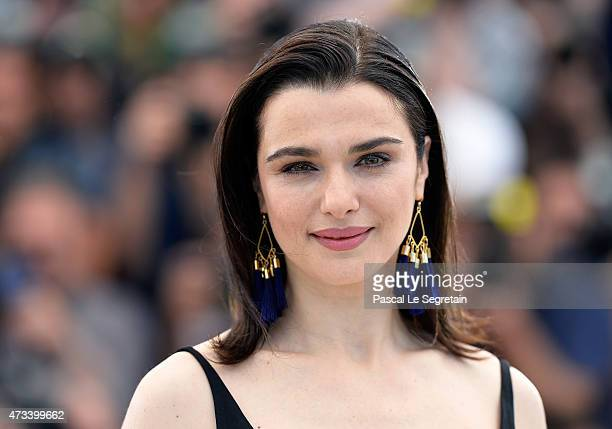 Actress Rachel Weisz attends a photocall for The Lobster during the 68th annual Cannes Film Festival on May 15 2015 in Cannes France