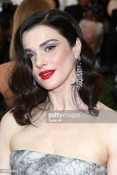 Actress Rachel Weisz attends China Through the Looking Glass the 2015 Costume Institute Gala at Metropolitan Museum of Art on May 4 2015 in New York...