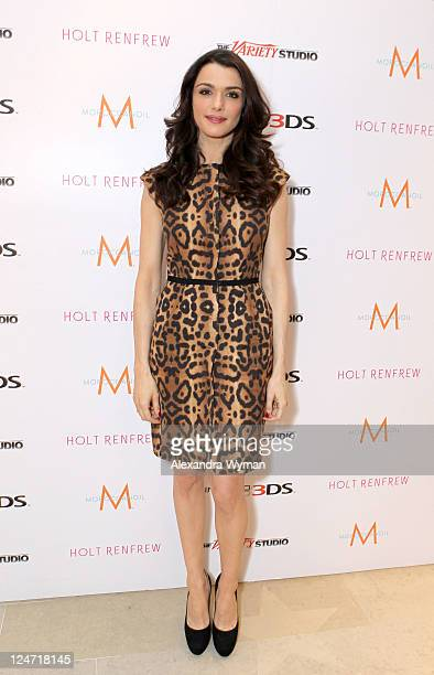 Actress Rachel Weisz attends day 2 of The Variety Studio Presented by Nintendo 3DS at Holt Renfrew during the 2011 Toronto International Film...