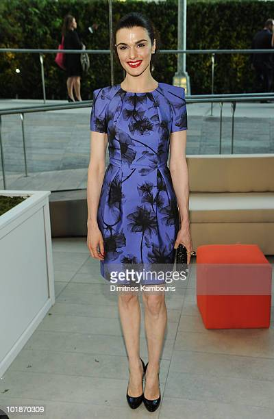 Actress Rachel Weisz attends the 2010 CFDA Fashion Awards at Alice Tully Hall Lincoln Center on June 7 2010 in New York City