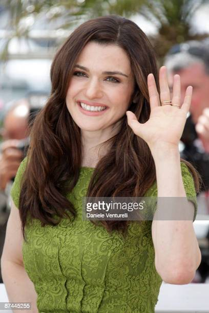 Actress Rachel Weisz attends the Agora Photocall held at the Palais Des Festivals during the 62nd International Cannes Film Festival on May 17 2009...