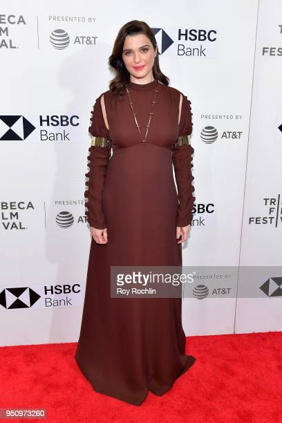 Actress Rachel Weisz attends the Disobedience premiere during the 2018 Tribeca Film Festival at BMCC Tribeca PAC on April 24 2018 in New York City