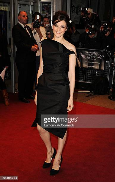 Actress Rachel Weisz attends the gala screening of The Brothers Bloom at Odeon West End on October 27, 2008 in London, England.