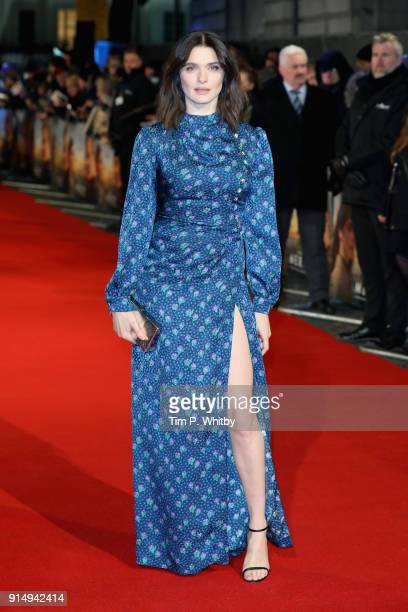 Actress Rachel Weisz attends 'The Mercy' World Premiere at The Curzon Mayfair on February 6 2018 in London England