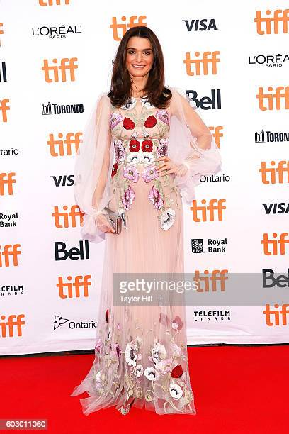 Actress Rachel Weisz attends the premiere of 'Denial' during the 2016 Toronto International Film Festival at Princess of Wales Theatre on September...
