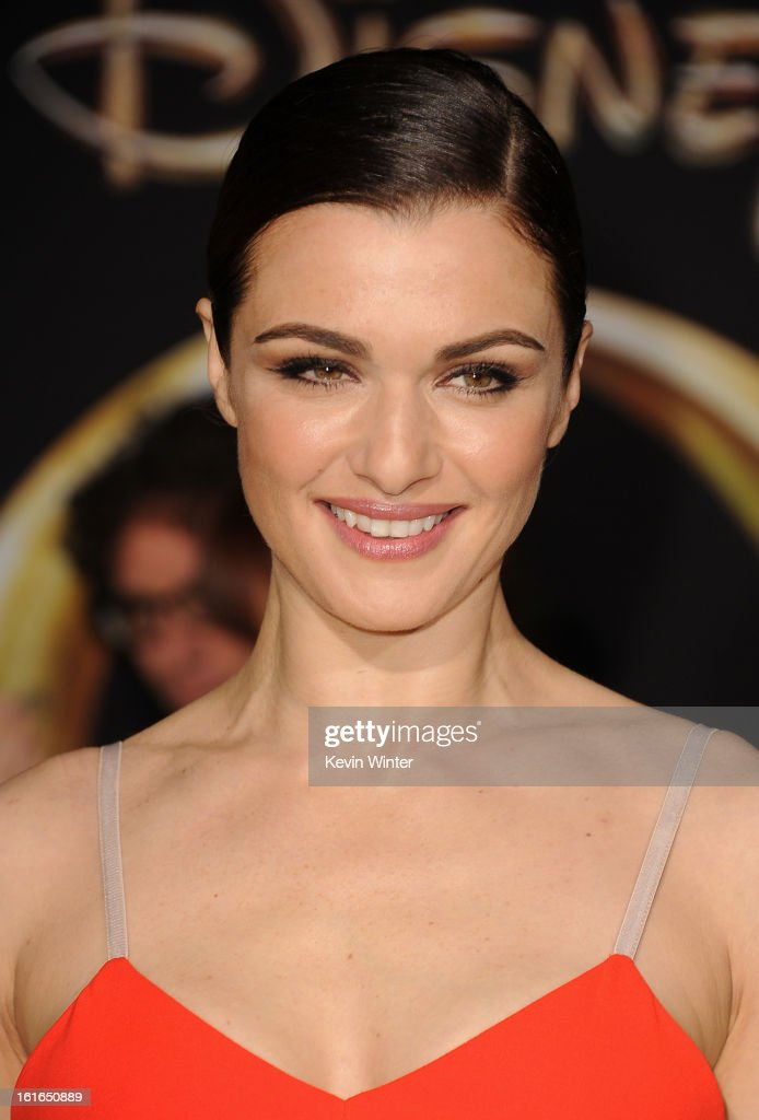Actress Rachel Weisz attends the world premiere of Walt Disney Pictures' 'Oz The Great And Powerful' at the El Capitan Theatre on February 13, 2013 in Hollywood, California.