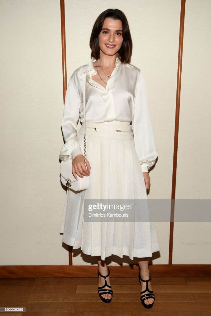 Actress Rachel Weisz attends Through Her Lens: The Tribeca Chanel Women's Filmmaker Program Celebration at Smyth Hotel on October 19, 2017 in New York City.