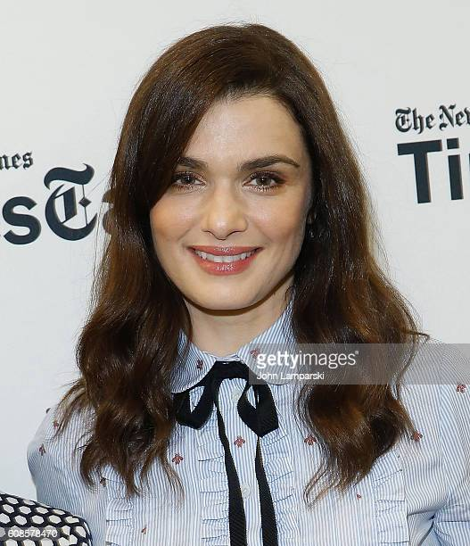 Actress Rachel Weisz attends TimesTalks with Rachel Weisz and Deborah E Lipstadt at Merkin Concert Hall on September 19 2016 in New York City