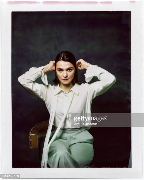 Actress Rachel Weisz from the film 'Disobedience' is photographed on polaroid film at the LA Times HQ at the 42nd Toronto International Film Festival...