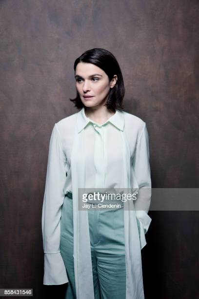 Actress Rachel Weisz from the film Disobedience poses for a portrait at the 2017 Toronto International Film Festival for Los Angeles Times on...