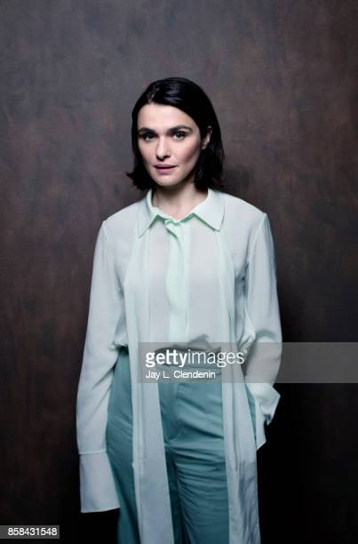 Actress Rachel Weisz from the film 'Disobedience' poses for a portrait at the 2017 Toronto International Film Festival for Los Angeles Times on...