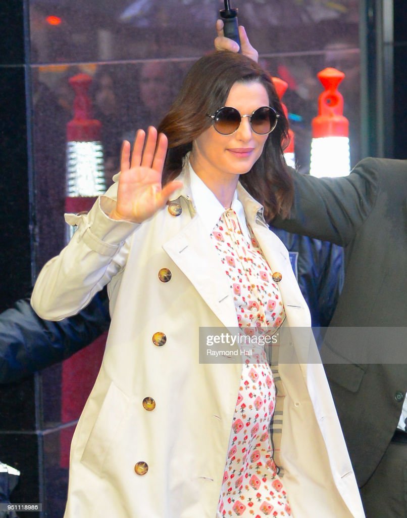 Celebrity Sightings in New York City - April 25, 2018 : News Photo