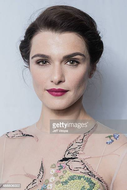 Actress Rachel Weisz of 'The Lobster' poses for a portrait at the 2015 Toronto Film Festival at the TIFF Bell Lightbox on September 14 2015 in...