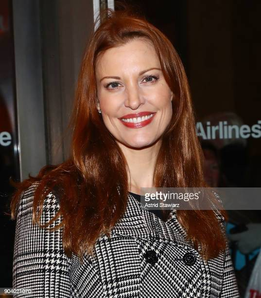 Actress Rachel York attends 'John Lithgow Stories By Heart' opening night at American Airlines Theatre on January 11 2018 in New York City