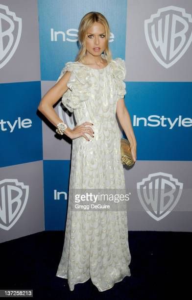 Actress Rachel Zoe arrives at 13th Annual Warner Bros And InStyle Golden Globe After Party at The Beverly Hilton hotel on January 15 2012 in Beverly...