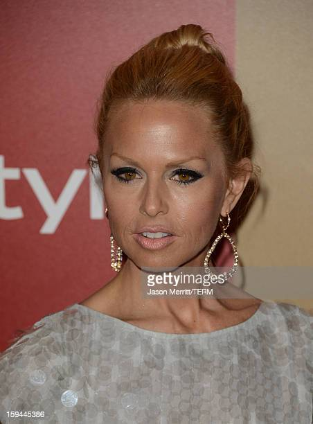 Actress Rachel Zoe attends the 14th Annual Warner Bros And InStyle Golden Globe Awards After Party held at the Oasis Courtyard at the Beverly Hilton...