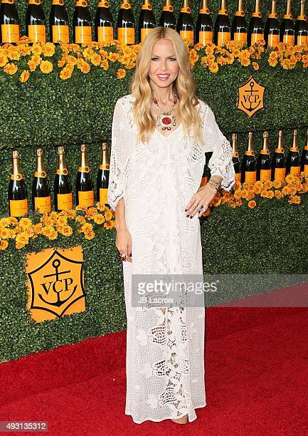 Actress Rachel Zoe attends the SixthAnnual Veuve Clicquot Polo Classic at Will Rogers State Historic Park on October 17 2015 in Pacific Palisades...