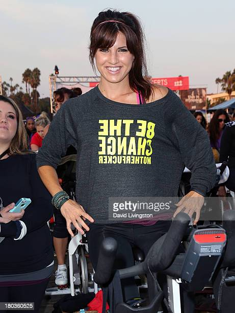 Actress Rachele Brooke Smith attends Cycle For Heroes A Rock Inspired Ride at Santa Monica Pier on September 11 2013 in Santa Monica California