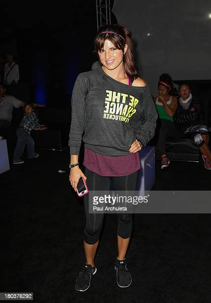 Actress Rachele Brooke Smith attends the Cycle For Heroes A Rock Inspired Ride on at the Santa Monica Pier on September 11 2013 in Santa Monica...
