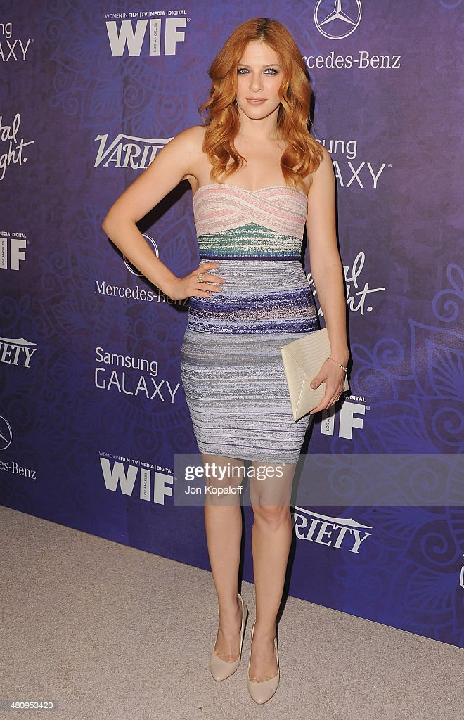 Actress Rachelle Lefevre arrives at Variety And Women In Film Annual Pre-Emmy Celebration at Gracias Madre on August 23, 2014 in West Hollywood, California.