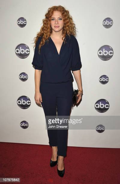 Actress Rachelle Lefevre arrives to the Disney ABC Television Group Winter Press Tour at the Langham Hotel on January 10 2011 in Pasadena California