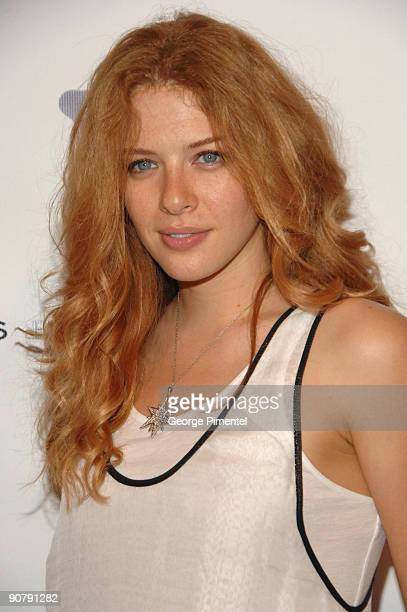 Actress Rachelle Lefevre attends a party hosted by WillIAm at This Is London on June 20 2009 in Toronto Canada