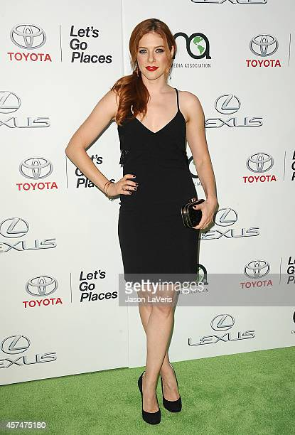 Actress Rachelle Lefevre attends the 2014 Environmental Media Awards at Warner Bros Studios on October 18 2014 in Burbank California