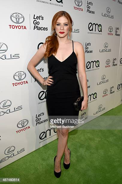 Actress Rachelle Lefevre attends the 24th Annual Environmental Media Awards presented by Toyota and Lexus at Warner Bros Studios on October 18 2014...