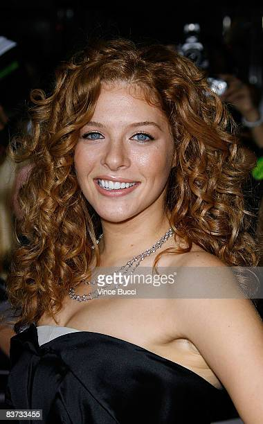 Actress Rachelle Lefevre attends the premiere of Summit Entertainment's 'Twilight' at The Mann Village and Bruin Theatres on November 17 2008 in...